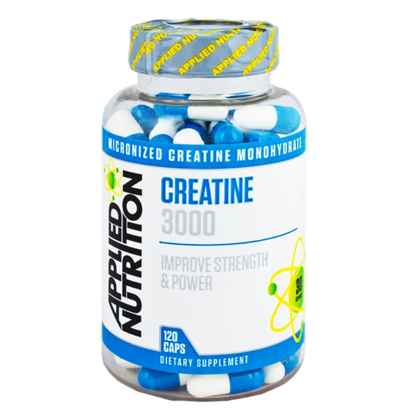 Applied Nutrition Creatine 3000 120 Caps Creatine  www.nutri4u.co.uk