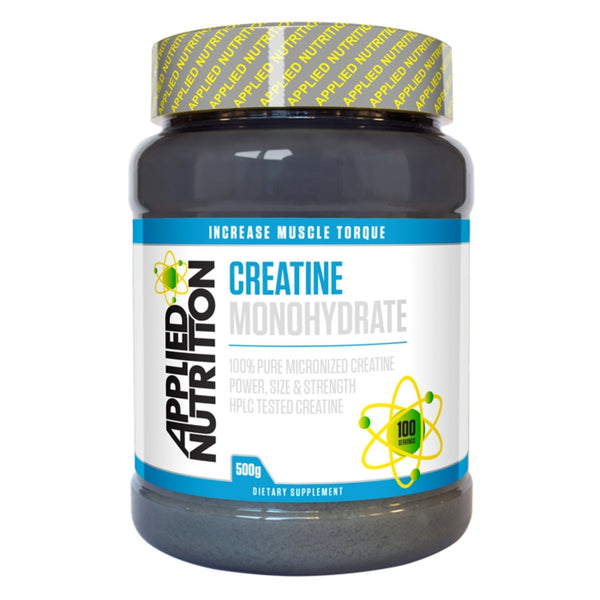 Applied Nutrition Creatine Monohydrate 500g (100 Servings) Creatine  www.nutri4u.co.uk