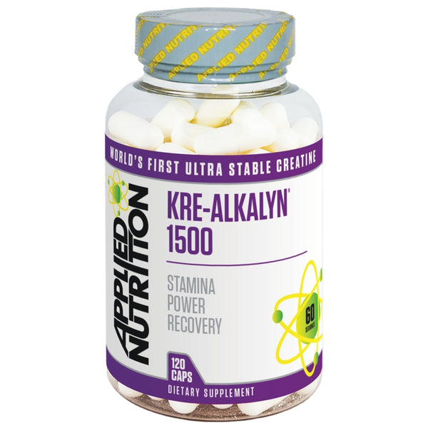 Applied Nutrition Kre-Alkalyn 1500 (120 Caps) 120 Caps Creatine  www.nutri4u.co.uk