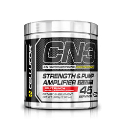 Cellucor CN3 225g (45 Servings) / Fruit Punch Creatine  www.nutri4u.co.uk