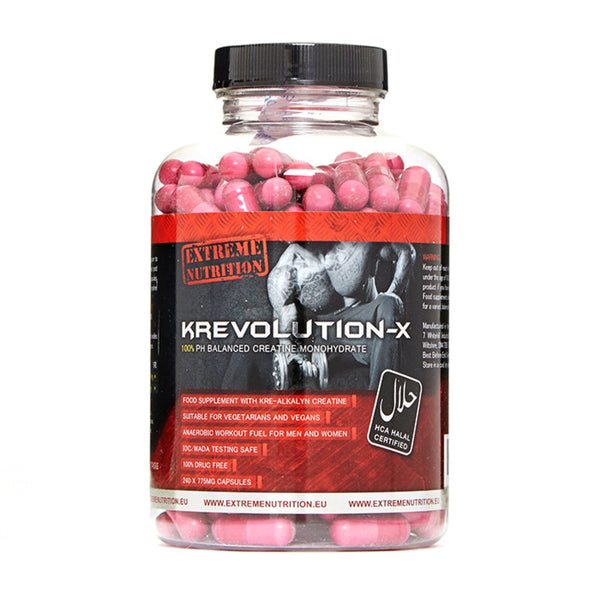 Extreme Nutrition Krevolution-X 60 Caps Creatine  www.nutri4u.co.uk