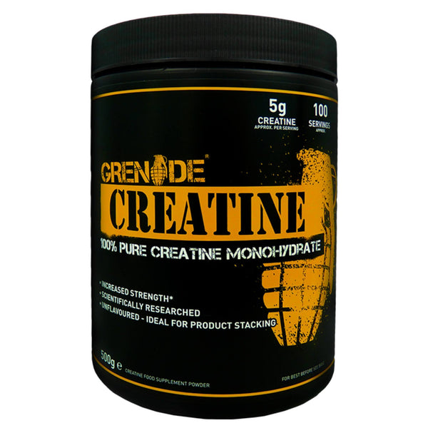 Grenade Essentials Creatine 500g (100 Servings) Creatine  www.nutri4u.co.uk - 1