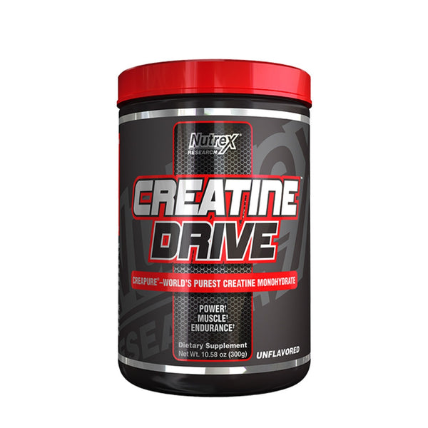 Nutrex Creatine Drive Black 300g (100 Servings) Creatine  www.nutri4u.co.uk