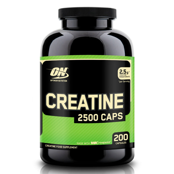 Optimum Nutrition Creatine 2500 200 Caps (100 Servings) Creatine  www.nutri4u.co.uk