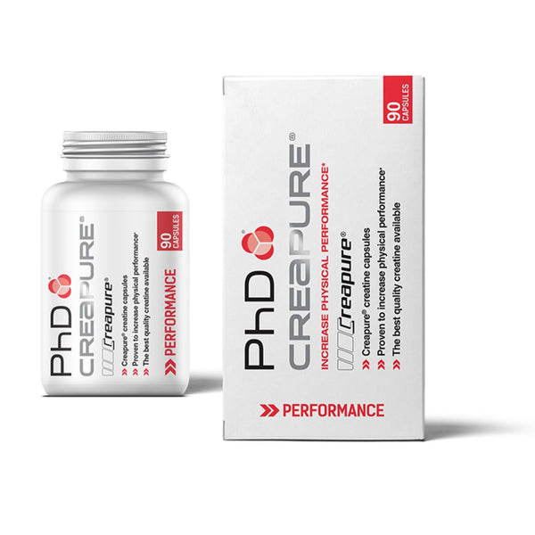 PhD Nutrition Creapure Capsules 90 Caps (45 Servings) Creatine  www.nutri4u.co.uk