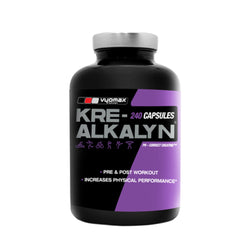 Vyomax Nutrition Kre-Alkalyn 240 Caps Creatine  www.nutri4u.co.uk - 1