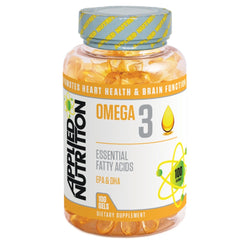 Applied Nutrition Omega 3 1000mg (100 Softgels) 100 Gels EFA  www.nutri4u.co.uk
