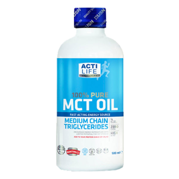 USN 100% Pure MCT Oil 500ml EFA  www.nutri4u.co.uk