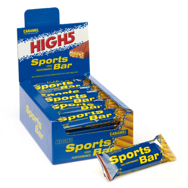 High5 SportsBar 25 x 55g Bars / Berry Energy Bar  www.nutri4u.co.uk - 1