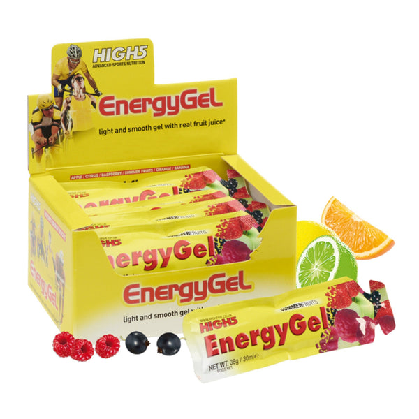 High5 EnergyGel 20 x 38g Gels / Apple Energy Gel  www.nutri4u.co.uk - 1