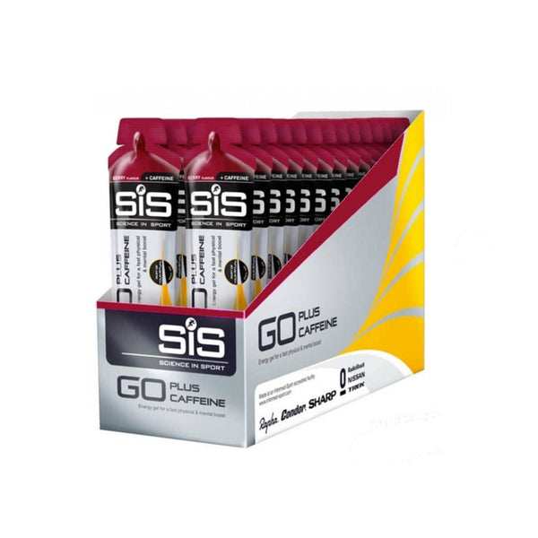 Science In Sport GO + Caffeine Gel Multipack 30 x 60ml / Berry Energy Gel  www.nutri4u.co.uk - 1