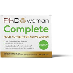 PhD Woman Complete 60 Caps Health Foods  www.nutri4u.co.uk