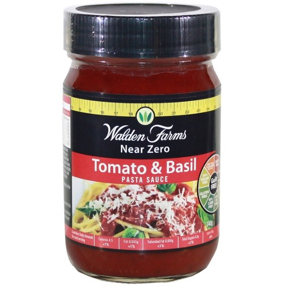 Walden Farms Pasta Sauce 340g / Alfredo Health Foods  www.nutri4u.co.uk