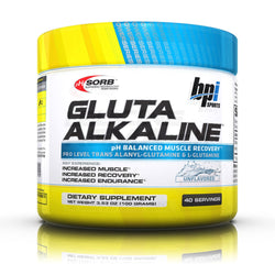 BPI Sports Gluta Alkaline 100g (40 Servings) Amino Acids/BCAAs  www.nutri4u.co.uk