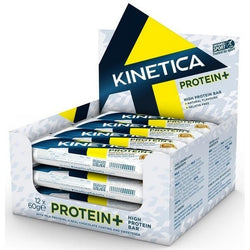 Kinetica Protein+ Bars 12 x 60g Bars / Chocolate Orange Protein  www.nutri4u.co.uk - 1