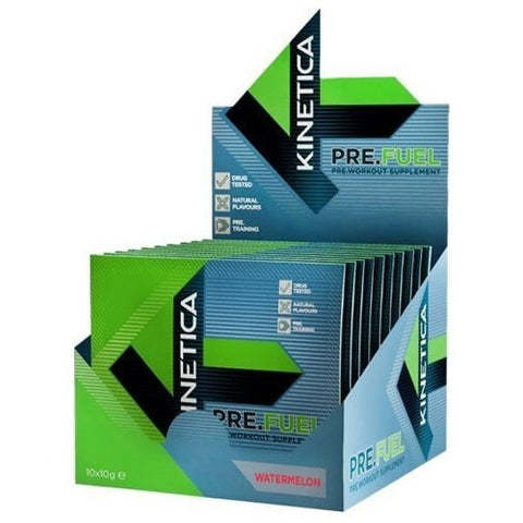 Kinetica Pre.Fuel 10 x 10g Sachets / Berry Pre-Workout  www.nutri4u.co.uk - 2