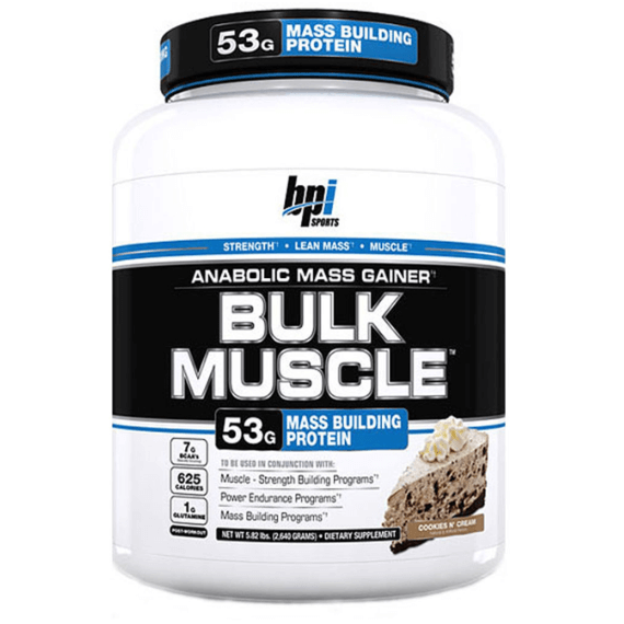 BPI Sports Bulk Muscle 2.67kg / Chocolate Peanut Butter Mass Gainers  www.nutri4u.co.uk