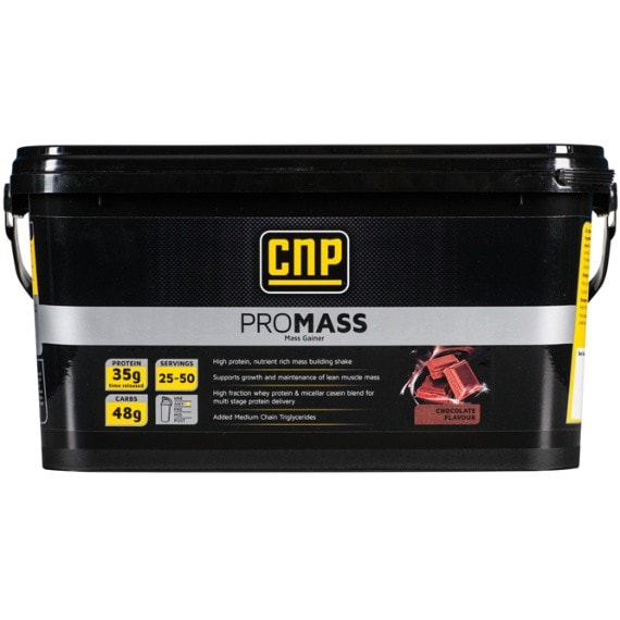 CNP Professional Pro Mass 2.5kg / Banana Mass Gainers  www.nutri4u.co.uk - 1