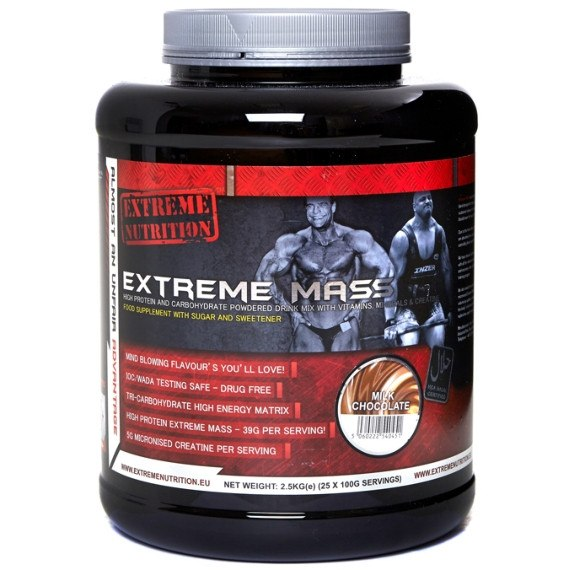 Extreme Nutrition Extreme Mass 2.5kg / Blueberry Cheesecake Mass Gainers  www.nutri4u.co.uk - 1