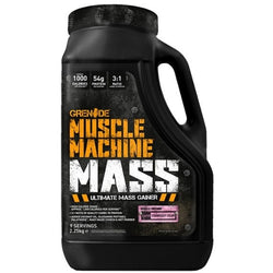 Grenade Muscle Machine Mass 2.25kg (9 Servings) / Chocolate Milkshake Mass Gainers  www.nutri4u.co.uk - 1