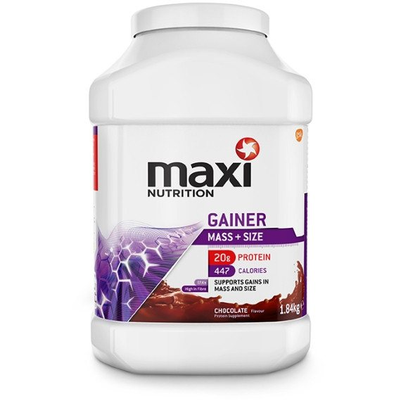 MaxiNutrition Gainer 1.84kg (16 Servings) / Chocolate Mass Gainers  www.nutri4u.co.uk