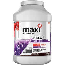 MaxiNutrition Progain 1.5kg (12 Servings) / Chocolate Mass Gainers  www.nutri4u.co.uk