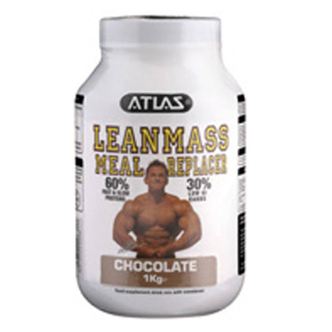 Atlas Lean Mass MRP 1kg / Banana Malt Meal Replacement  www.nutri4u.co.uk - 2