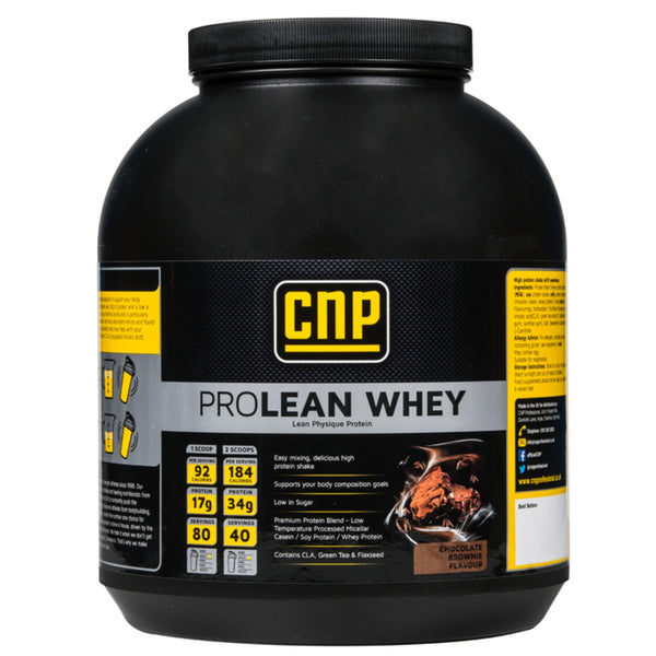 CNP Professional Pro Lean Whey 2kg / Chocolate Brownie Meal Replacement  www.nutri4u.co.uk - 1