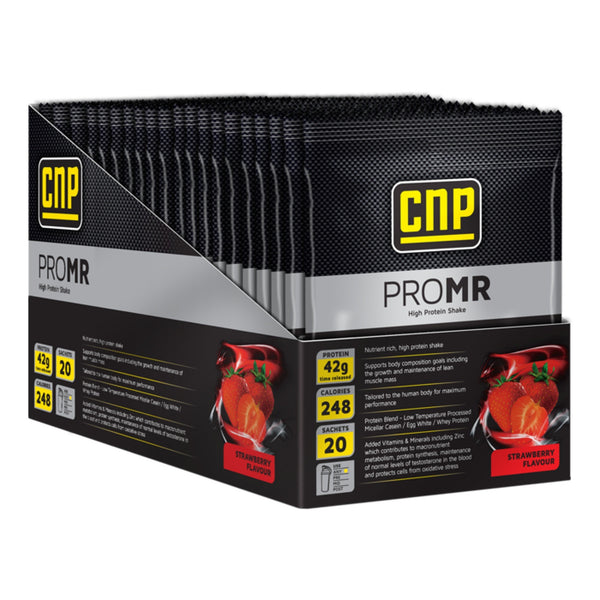 CNP Professional Pro MR 20 x 72g Sachets / Strawberry Meal Replacement  www.nutri4u.co.uk - 1