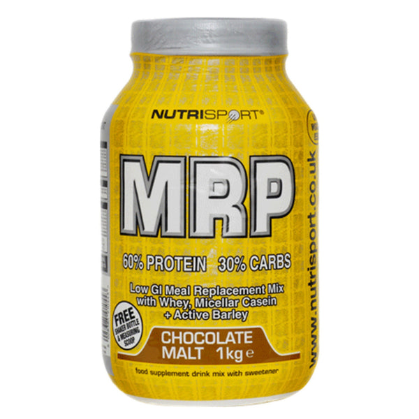 Nutrisport MRP 60:30 1kg (12 Servings) / Banana Meal Replacement  www.nutri4u.co.uk - 1