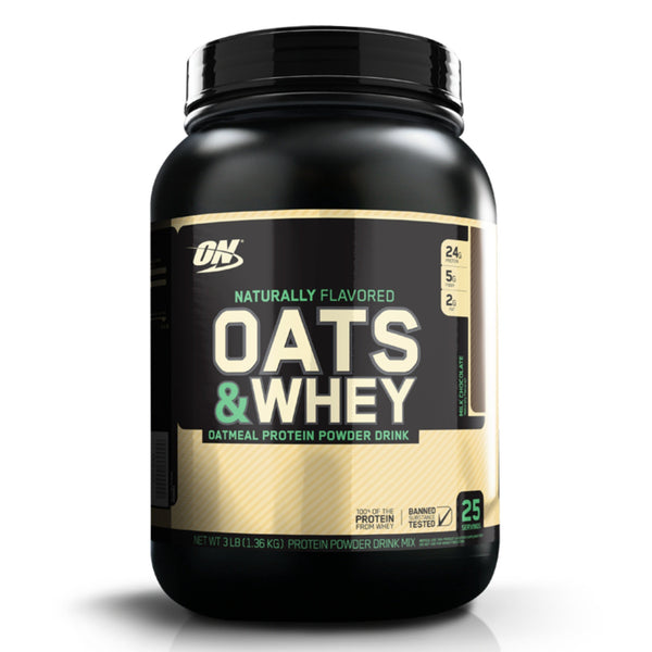 Optimum Nutrition Natural 100% Oats & Whey 1.36kg (26 Servings) / Chocolate Meal Replacement  www.nutri4u.co.uk