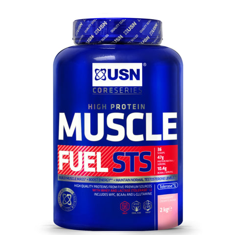USN Muscle Fuel STS 2kg / Chocolate All-In-One  www.nutri4u.co.uk - 1