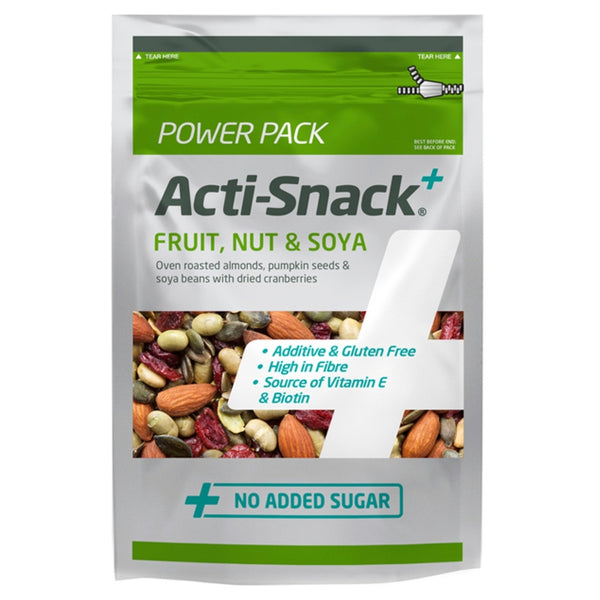 Acti-Snack Fruit, Nut & Soya 250g Natural & Organic  www.nutri4u.co.uk - 1