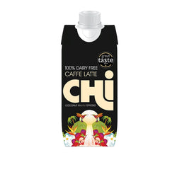 CHi 100% Dairy Free Caffe Latte 12 x 330ml Natural & Organic  www.nutri4u.co.uk