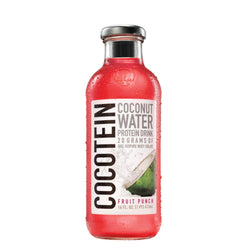 Isopure Cocotein Coconut Water 12 x 470ml / Fruit Punch Natural & Organic  www.nutri4u.co.uk - 1