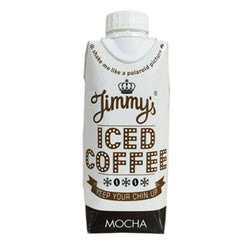 Jimmy's Iced Coffee Mocha 12 x 300ml Cartons / Mocha Natural & Organic  www.nutri4u.co.uk