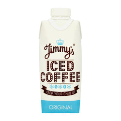 Jimmy's Iced Coffee Original 12 x 300ml Cartons / Original Natural & Organic  www.nutri4u.co.uk