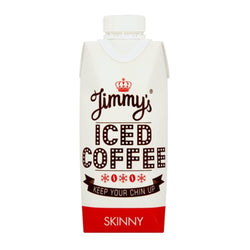 Jimmy's Iced Coffee Skinny 12 x 330ml Cartons Natural & Organic  www.nutri4u.co.uk