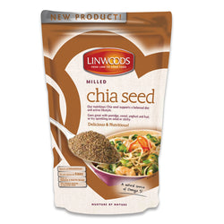 Linwoods Milled Organic Chia Seed 1 x 200g Natural & Organic  www.nutri4u.co.uk - 1