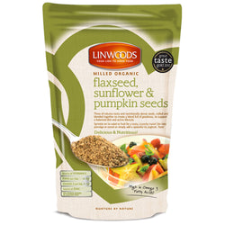 Linwoods Milled Organic Flaxseed Sunflower & Pumpkin Seeds 1 x 200g Natural & Organic  www.nutri4u.co.uk - 1