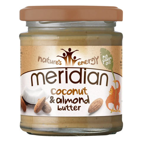 Meridian Coconut & Almond Butter Smooth 1 x 170g Natural & Organic  www.nutri4u.co.uk - 1