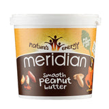Meridian Natural Nut Butter 1kg / Natural Peanut Butter Crunchy Natural & Organic  www.nutri4u.co.uk - 2
