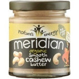Meridian Natural Nut Butter 170g / Natural Cashew Butter Crunchy Natural & Organic  www.nutri4u.co.uk - 6
