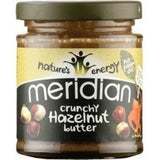Meridian Natural Nut Butter 170g / Natural Hazelnut Butter Crunchy Natural & Organic  www.nutri4u.co.uk - 7