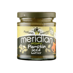 Meridian Organic Seed Butter 170g / Pumpkin Smooth Natural & Organic  www.nutri4u.co.uk - 1