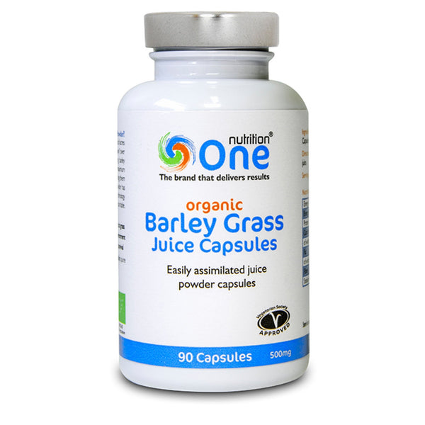 One Nutrition Barley Grass Juice Capsules 90 Caps (45 Servings) Natural & Organic  www.nutri4u.co.uk
