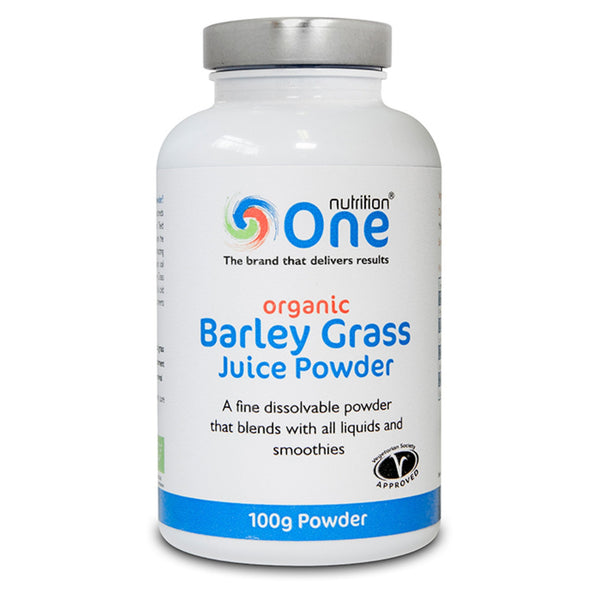 One Nutrition Barley Grass Juice Powder 100g (37 Servings) Natural & Organic  www.nutri4u.co.uk