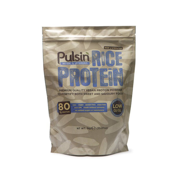 Pulsin Brown Rice Protein 1kg / Unflavoured Natural & Organic  www.nutri4u.co.uk - 1