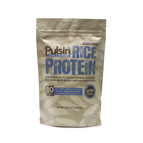 Pulsin Brown Rice Protein 250g / Unflavoured Natural & Organic  www.nutri4u.co.uk - 2