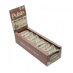 Pulsin Protein Snack Bars 18 x 50g Bars / Maple & Peanut Natural & Organic  www.nutri4u.co.uk